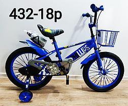 Велосипед Phillips на 5-6 лет с холостым ходом рама 18 (цвет-зеленый), фото 3