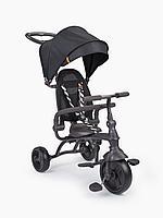 """Велосипед трёхколёсный """"MERCURY"""" (black) Happy Baby"""