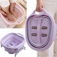 Складная ванночка для ног с функцией массажа