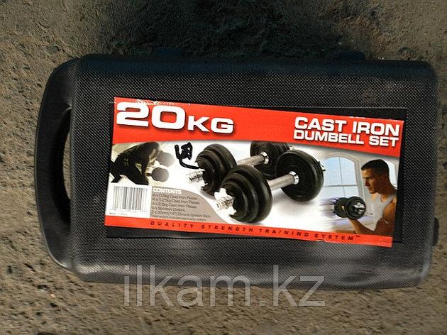 Гантели в кейсе 20 кг., фото 2