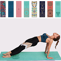 Йога-Полотенце ( покрытие для коврика) 63*185см