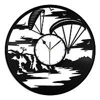 Настенные часы из пластинки Регби, подарок регбисту, инструктору, фанату, любителю, 1395