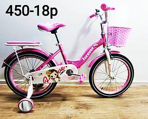 """Велосипед детский Forever """"Корона"""" (розово-лиловый) на 5-7 лет, фото 2"""