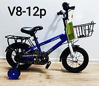 Велосипед Phoenix синий оригинал детский с холостым ходом 12 размер