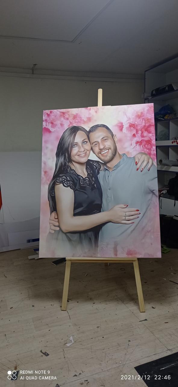 Печать на холсте изготовление картин - фото 1
