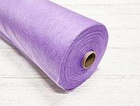 Простыни одноразовые NOV, спандбонд эконом, фиолетовый 200м*80см, рулон с перфорацией (100 шт.)