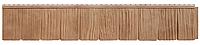 """Панель фасадная  """"ЯФАСАД"""" Сибирская дранка Янтарь 257x1631 мм Grand Line, фото 1"""