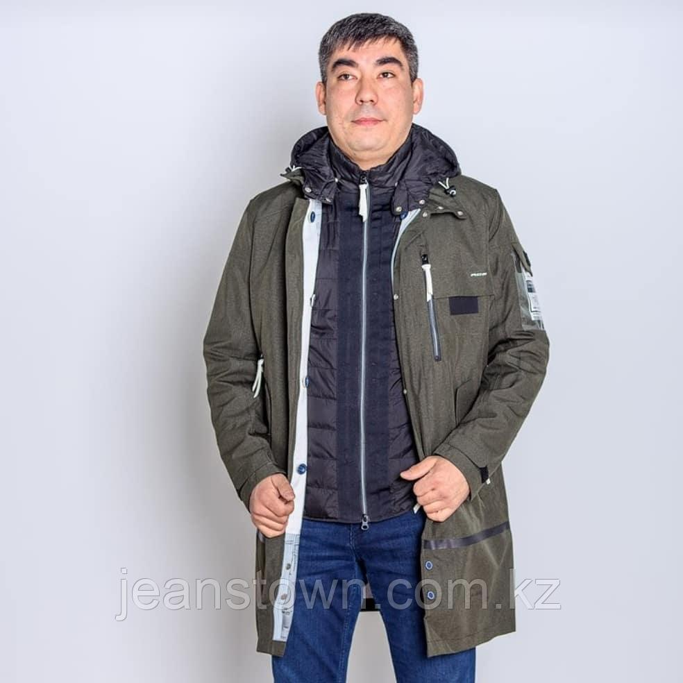 Куртка мужская демисезонная Shark Force длинная хаки - фото 1