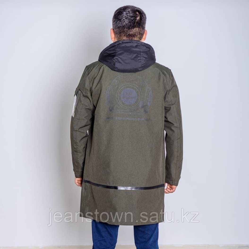 Куртка мужская демисезонная Shark Force длинная хаки - фото 5