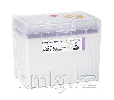 Наконечники Sartorius Biohit SafetySpace 50-1200 мкл с фильтром (Кат. № 791211F)