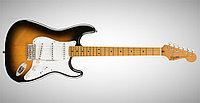 Электрогитара Squier Classic Vibe '50s Stratocaster®, Maple Fingerboard, 2-Color Sunburst