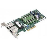Плата сетевого контроллера Supermicro AOC-SGP-I2 LAN 2-port RJ45 Gigabit Ethernet controller, PCI-e x4, Intel®