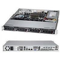 "Server Chassis SUPERMICRO 1U CSE-813MTQ-350CB, 4x3.5"" SAS/SATA HS HDD Bays, Slim ODD bay, 12""x10"" ATX, 1xFH"