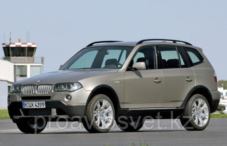 Переходные рамки на BMW 3-series Х3 I (Е83) дорестайл и рестайл (2003-2010) с Bosch AL 3/3R на Hella 3/3R