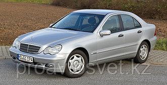 Переходные рамки на Mercedes-Benz С-Class II (W203) дорестайл и рестайл (2000-20 с Bosch AL 3/3R на Hella 3/3R