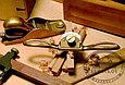 Стружок Lie-Nielsen Small Bronze Spokeshave Presto, бронзовый, с плоской колодкой, фото 2
