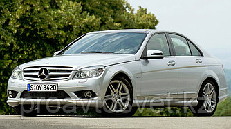 Переходные рамки на Mercedes-Benz С-Class III (W204) дорестайл (2007-2011) с Bosch AL 3/3R на Hella 3/3R