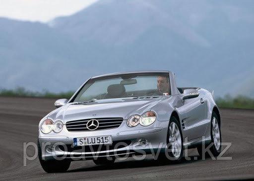 Переходные рамки на Mercedes-Benz SL-Class (R230) дорестайл (2001-2006) с Bosch AL 3/3R на Hella 3/3R