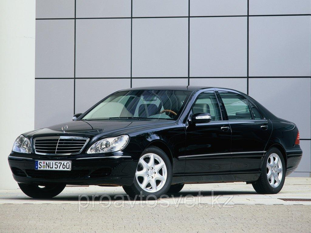 Переходные рамки на Mercedes-Benz S-Class IV (W220) рестайл (2002-2005) с Bosch AL 3/3R на Hella 3/3R