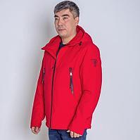 Куртка мужская демисезонная Vivacana красная короткая
