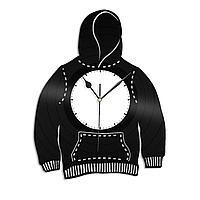 Настенные часы из пластинки Худи, магазин одежды, 1387