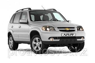Переходные рамки на Chevrolet Niva I дорестайл и рестайл (2002-н.в.) с Bosch AL 3/3R на Hella 3/3R