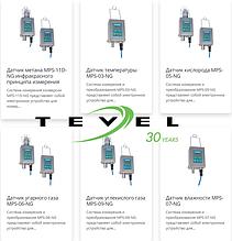 Датчики и детекторы Tevel