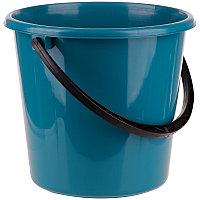 Ведро пластиковое, пищевое OfficeClean, мерная шкала, сине-зеленое, 7л