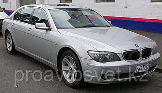 Переходные рамки на BMW 7-series IV (E66) дорестайл и рестайл (2001-2008) для установки модулей Hella 3/3R