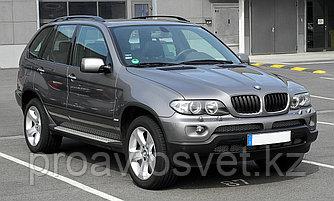 Переходные рамки на BMW  X5 I (E53) дорестайл и рестайл (1999-2006) для установки модулей Hella 3/3R