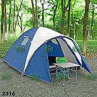 Двухслойная палатка с тамбуром Tuohai 2316. (110+210)х210х165 см. Доставка .