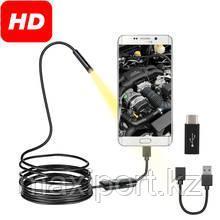 Камера эндоскоп  для смартфона или компьютера (USB), с подсветкой 7mm