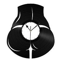 Настенные часы из пластинки Фитнес-бикини IFBB Women s Bikini Fitness, подарок фитнес девушке, 1410
