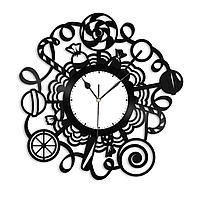 Настенные часы из пластинки Конфеты, Леденцы, Candy Shop, Кенди Шоп, магазин сладостей, конфет, 1412