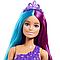 """Barbie """"Дримтопия"""" Кукла Барби Прицесса-Русалка с прекрасными волосами, в сиреневом топе, фото 3"""