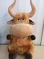 Мягкая игрушка бык 65 см.