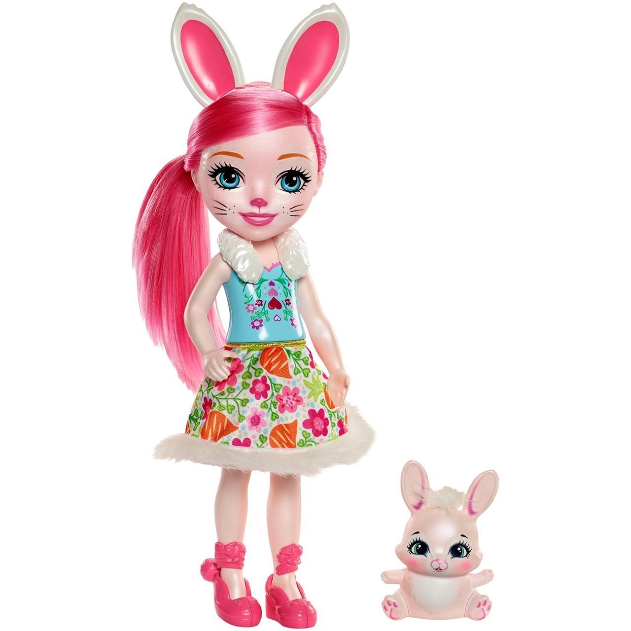 Enchantimals Высокая Кукла Энчантималс с питомцем Бри Кроля, 37 см (FRH52)