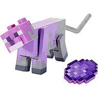 Minecraft Фигурка Майнкрафт Окрашенная Кошка, 7 см
