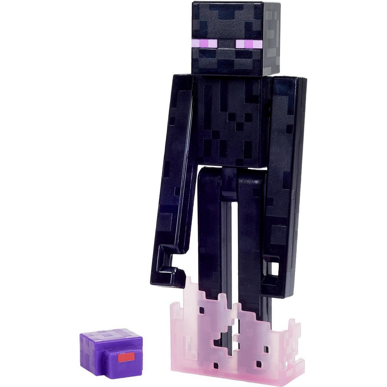 Minecraft Фигурка Майнкрафт Странник Края, Эндермен, 12 см