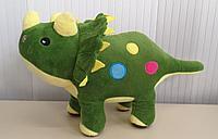 Мягкая игрушка динозавр, 37 см.