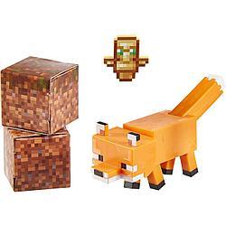 Minecraft Фигурка Майнкрафт Лиса, 7 см