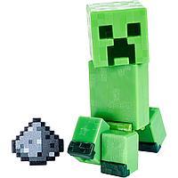 Minecraft Фигурка Майнкрафт Крипер с аксессуарами, Ползун, 7 см