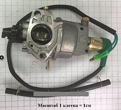 188- Карбюратор с электроклапаном для мотоблока