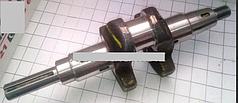 Коленвал (шпонка) 19 мм (от щеки до края шп.вала 120мм) 178