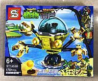 Конструктор SY1453D Растения против Зомби Водяной робот нападение с воды