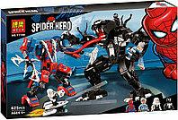Конструктор Bela 11188 Super Heroes Человек-паук против Венома (аналог Lego Marvel Super Heroes 76115)
