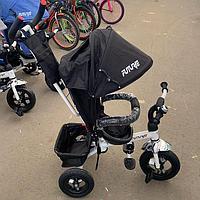 Детский трехколесный велосипед Future черный