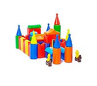 Пластиковые кубики Полесье Кремль-2
