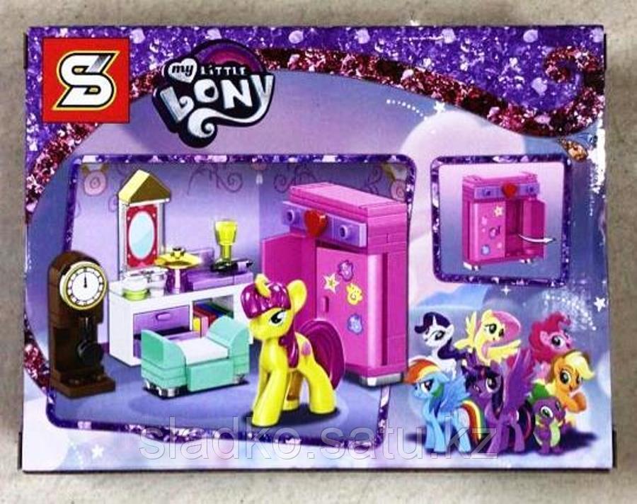 Конструктор SY1459C My Little Pony Пони желтая Флаттершай - фото 2