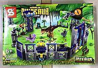 Конструктор Dinosaur world SY1515 Динозавры на базе большой набор